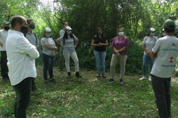 Funcionarios provinciales recorrieron el patrimonio natural de Puerto Yeruá