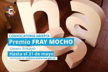 """Dieron a conocer las bases del premio literario """"Fray Mocho"""" 2020"""