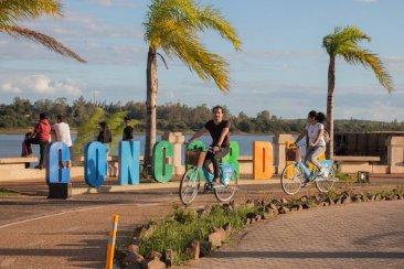 Costa Bici se consolidó como uno de los atractivos de la Costanera